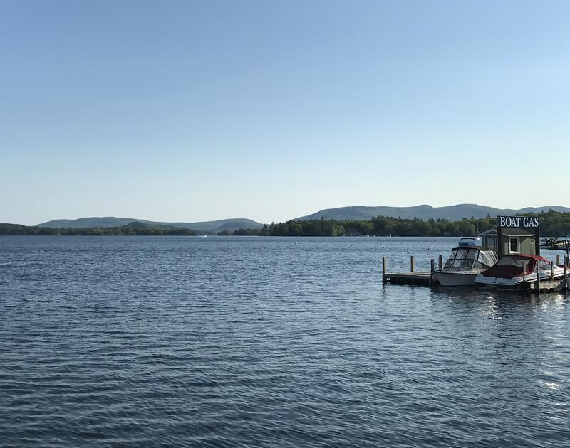 The pre-Memorial Day rush view of Lake Winnipesaukee