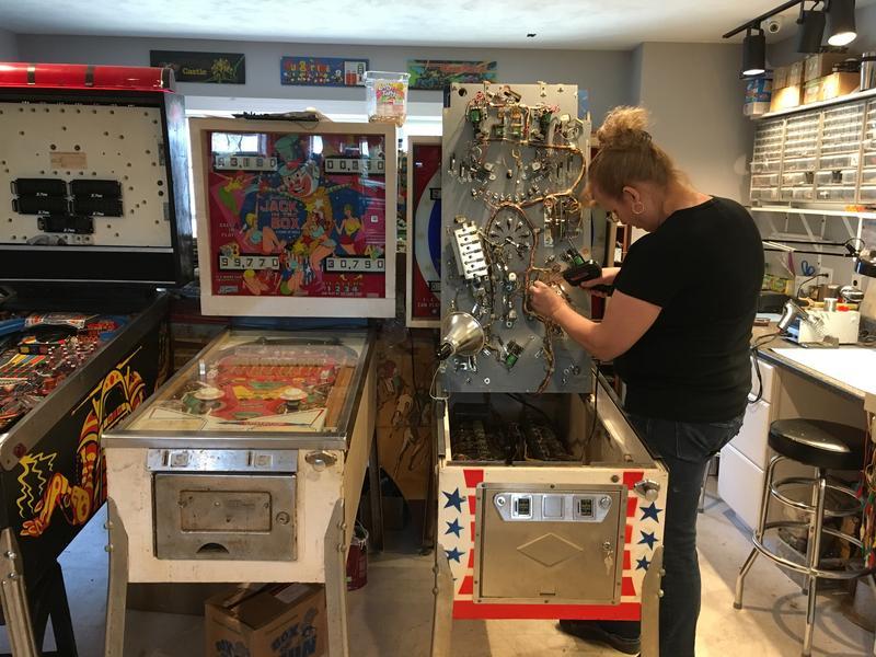 Sarah St. John of My Arcade Repair in Pelham, New Hampshire