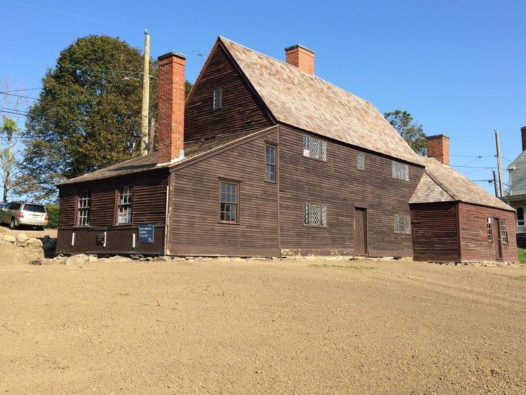 Jackson House in Portsmouth, N.H. Historic New England for restoration and stewardship of the 1664 Jackson House, Portsmouth, the oldest existing timber framed structure in New Hampshire.