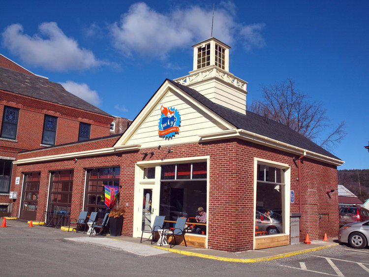 Lucky's Coffee Garage, Lebanon, N.H. One Park North Street for the rehabilitation and adaptive use of Lucky's Coffee Garage, Lebanon. High-quality re-use of former garage in a downtown historic district.