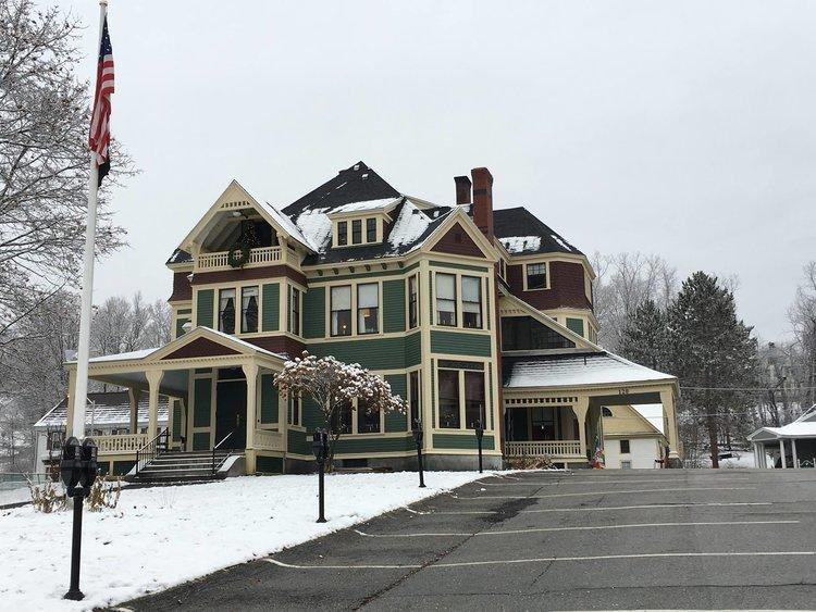 Littleton Community Center. Major commitment to Seven to Save-listed 1884 Queen Anne landmark that stands on Main Street, that included new roof, electrical and other systems work, removal of vinyl siding and repair and painting of clapboards.