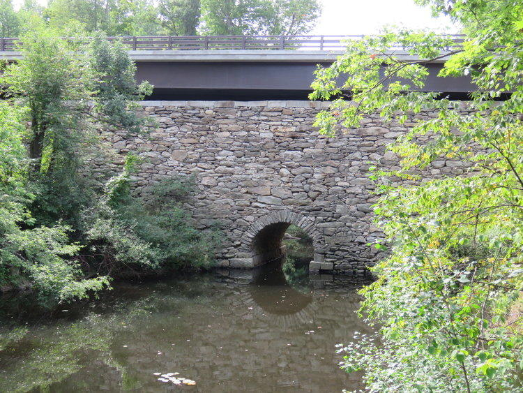 High Bridge in New Ipswich. NH Department of Transportation for stewardship of the 1817 New Ipswich High Bridge and compatible new construction. DOT installed a new steel span above oldest and tallest stone arched bridge in New Hampshire, preserving the h