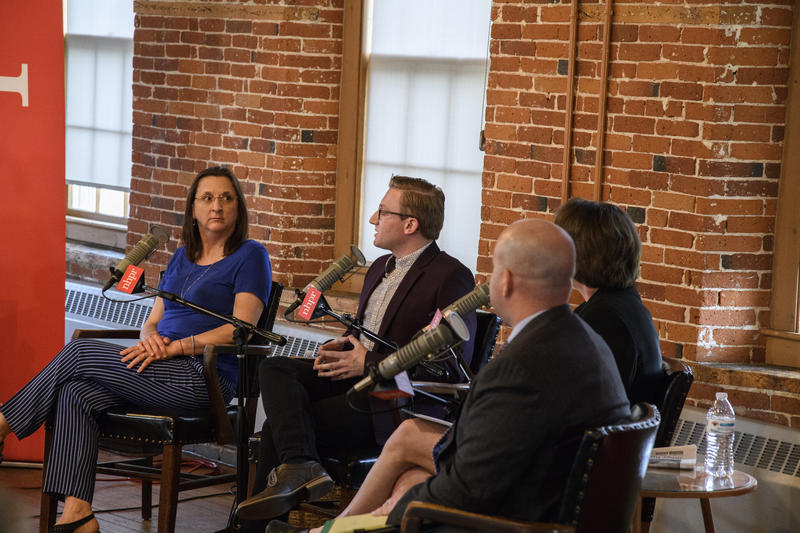 Guests: Elizabeth Muzzey, director of N.H. Division of Historical Resources, Jared Guilmett, vp of the board at the Belknap Mill Society, Jennifer Goodman, executive director of NH Preservation Alliance, and Justin Slattery, executive director of BEDC.