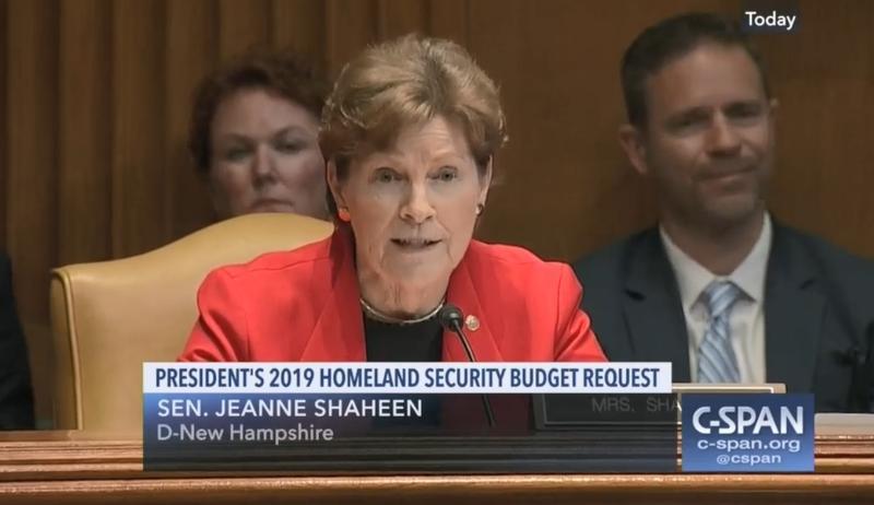Sen. Jeanne Shaheen questions DHS Secretary Kirstjen Nielson about H-2B visas