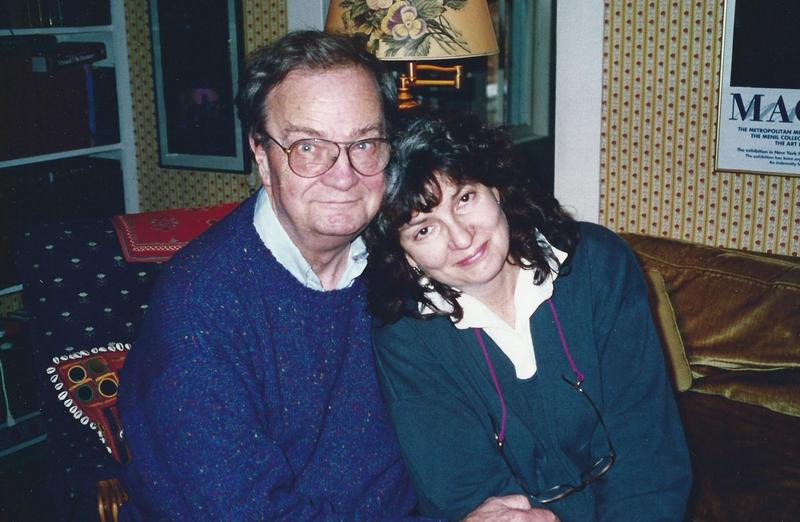 Donald Hall and Jane Kenyon in 1993.