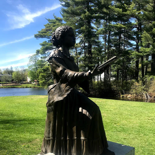 Harriet Wilson statue in Milford
