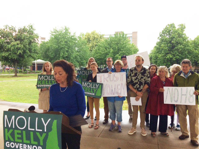 Planned Parenthood's PAC says it's supporting former state senator Molly Kelly becuase of her record on women's health issues.