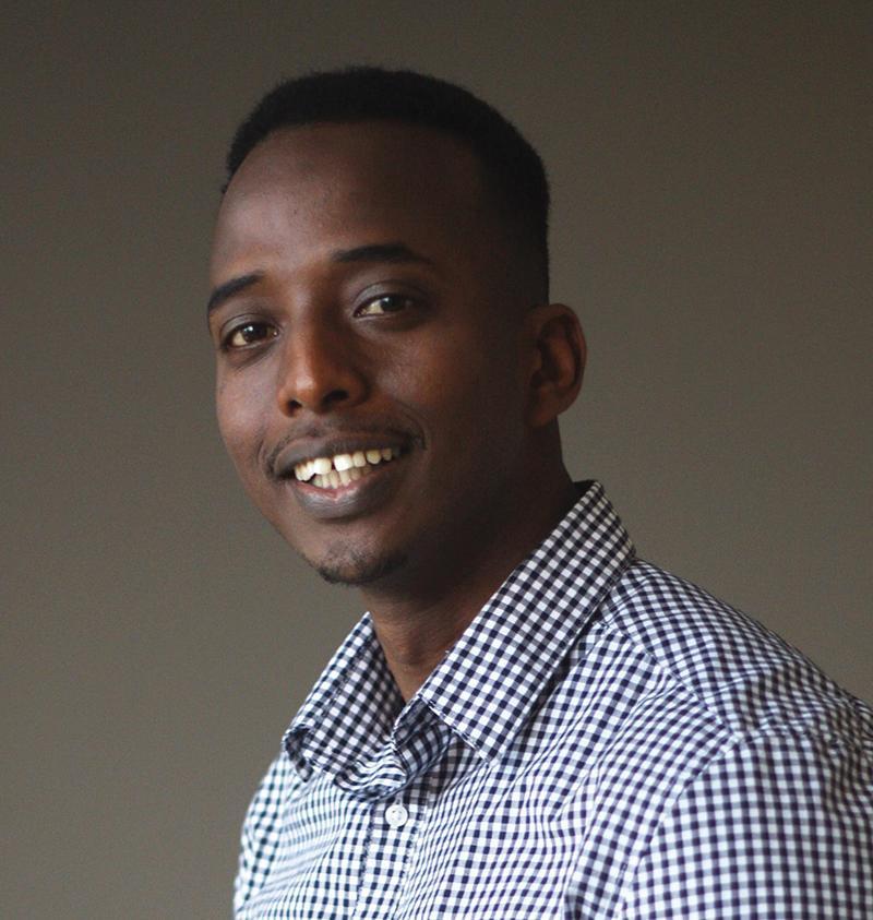 Abdi Nor Iftin, author of Call Me American: A Memoir
