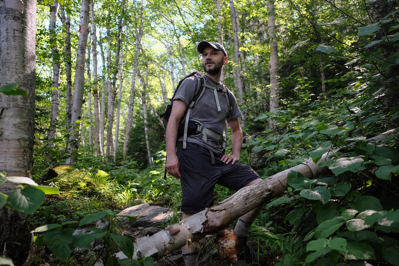 Dennis Follensbee is on a quest to map the most isolated places — acoustically — in the White Mountains.