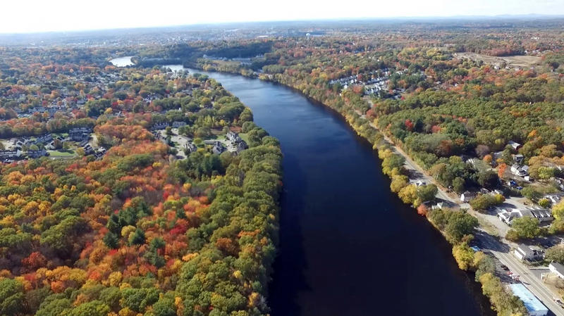 The Merrimack River.