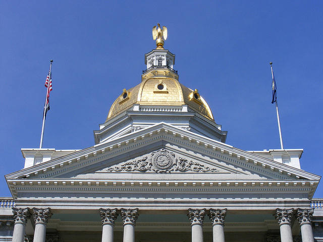 A special legislative session Wednesday at the New Hampshire State House ended without any response to the Supreme Court ruling on online sales taxes.