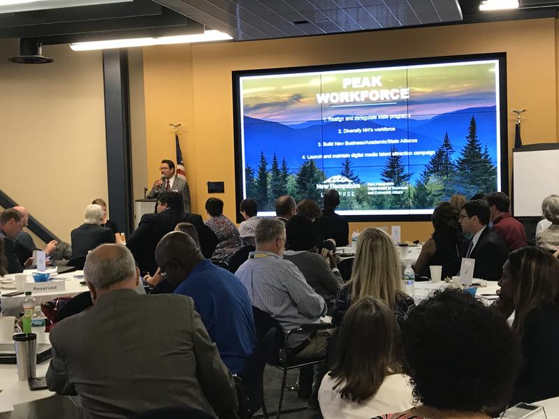 The forum on workforce diversity and economic inclusion, held at Eversource offices in Manchester, took place July 26, 2018.