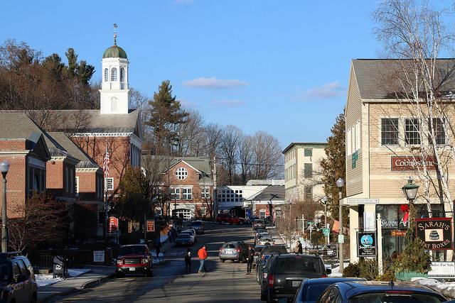 Downtown Peterborough, N.H.