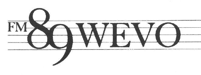 The G-clef logo for WEVO, designed when WEVO was largely a classical music service.