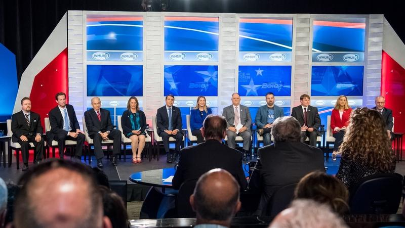 The eleven Democrats running for New Hampshire's First Congressional District had their first, and only, televised debate of the campaign Wednesday night.
