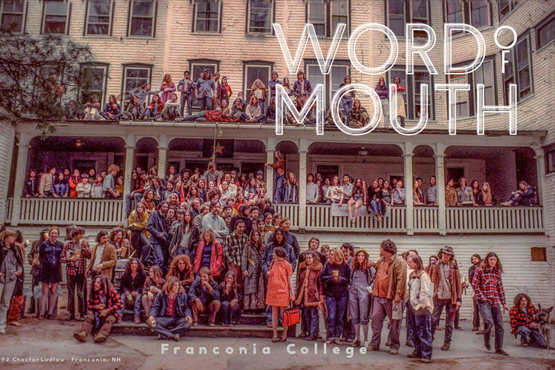 Franconia College students gather for a group photo (http://www.franconiacollegereminder.com/)