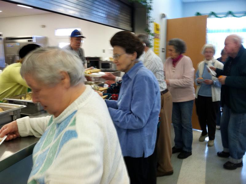 Lunch at Nashua Senior Activity Center