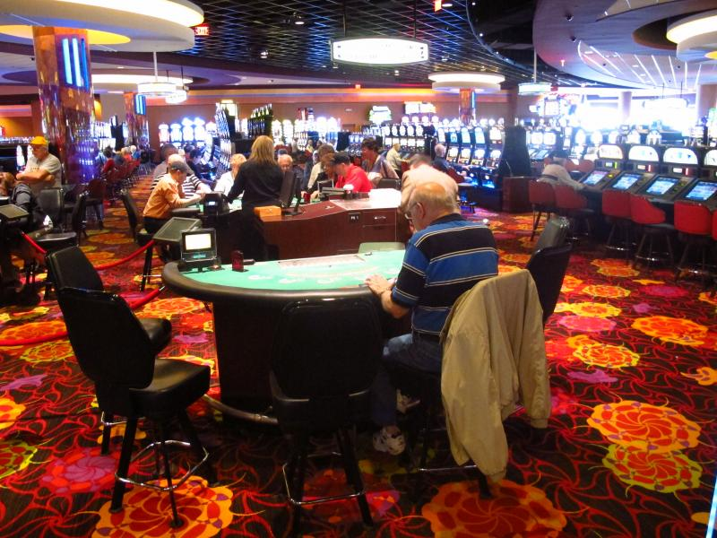 Table games arrived at The Meadows four years after the slot machines opened.