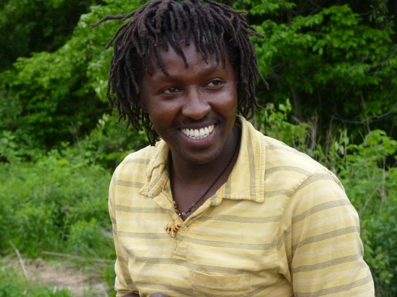 Anthony Munene, Farm Instructor