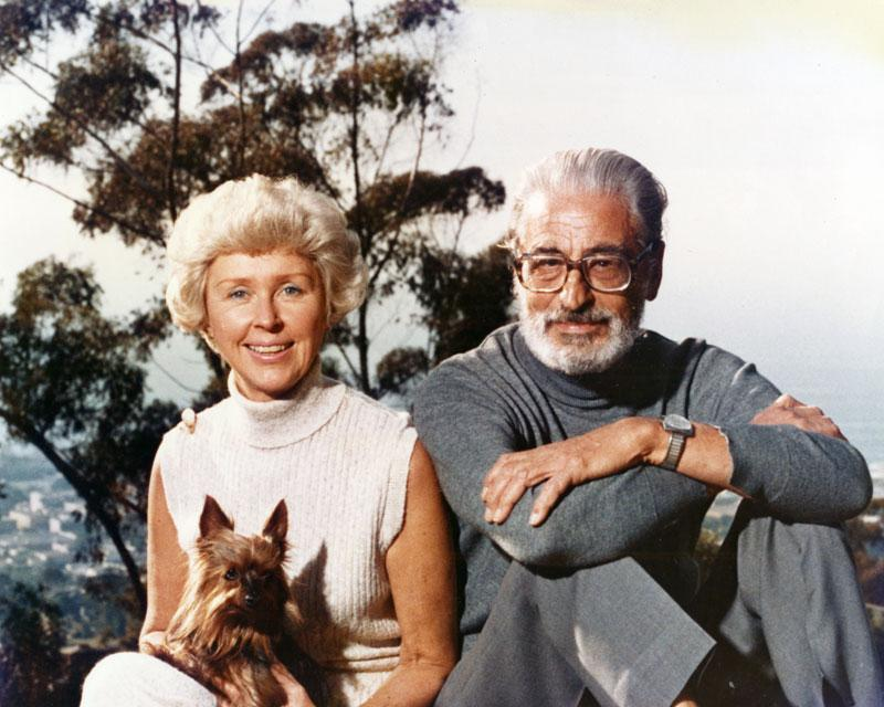 Audrey and Theodor Seuss Geisel