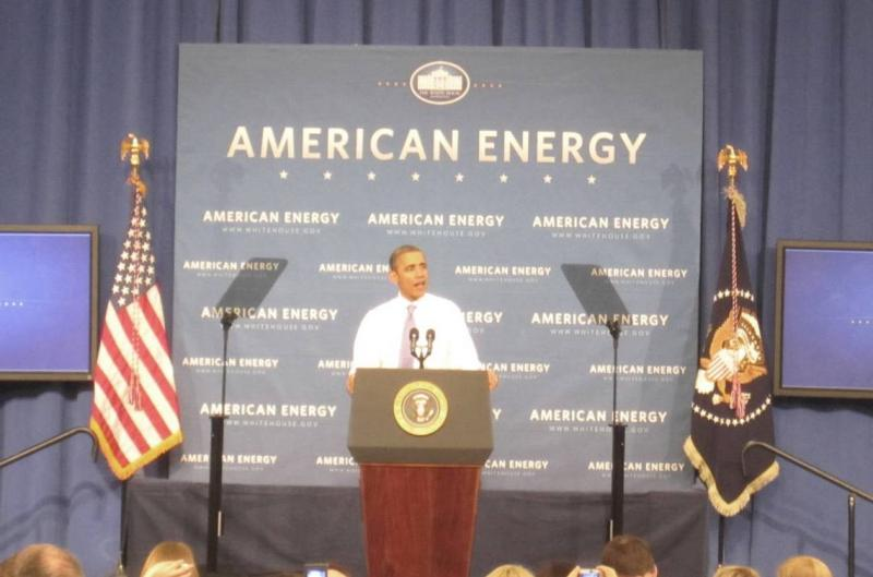 President Obama Visits Nashua Calls For Foreign Oil Independence