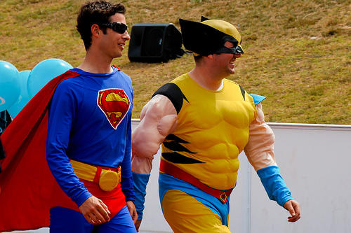 Click Here for an awesome slide show of some amazing superhero stuff!