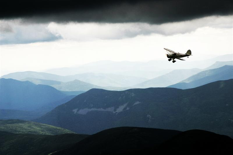Methods for touring the North Country have ranged from bipedal to a biplane.