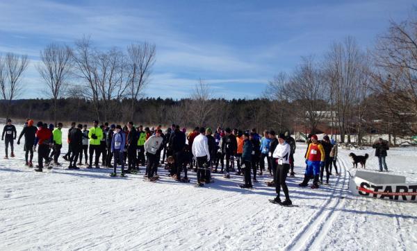 The Sidehiller starting line.