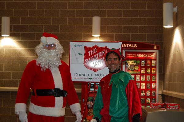 John Lyscars as the Hooksett Elf on right.