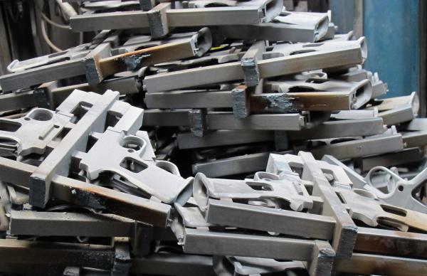Freshly forged pistol blanks at Sturm, Ruger