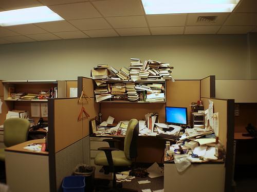Josh Rogers desk. Epic.