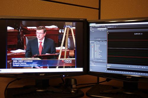 The glory and splendor that is C-SPAN.