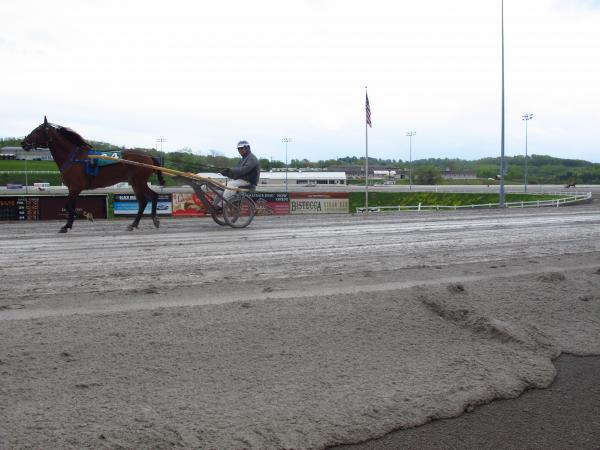 Racetrack at The Meadows, Strabane, PA.