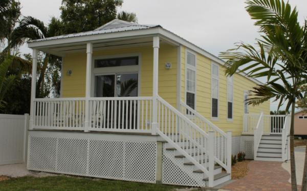 The Hemingway model in Sunset Harbor in the Florida Keys.