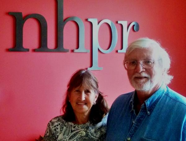 Folk Show host Kate McNally with Bill Staines