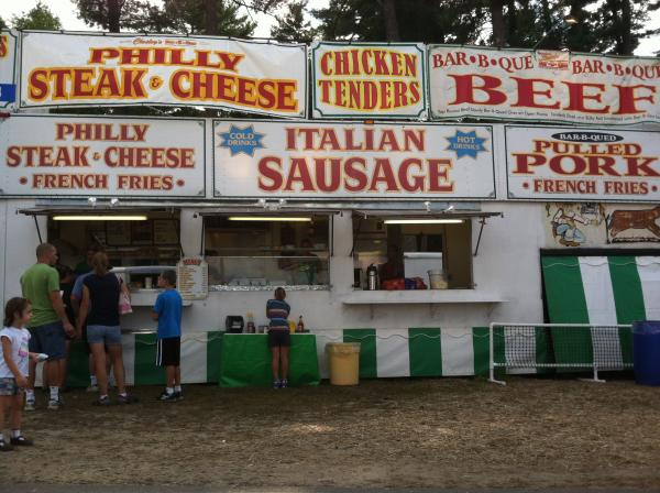 While they may not be the healthiest, there is no shortage of food options at the Hopkinton State Fair, which took place this past weekend.