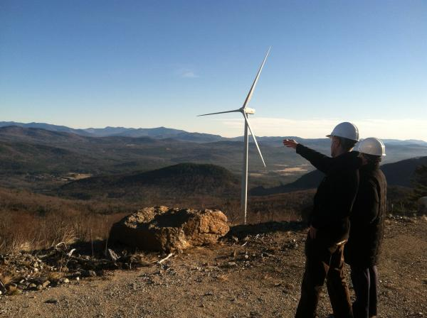 The Spanish-owned Iberdrola also operates a wind-farm in Groton (pictured here) and Lempster.