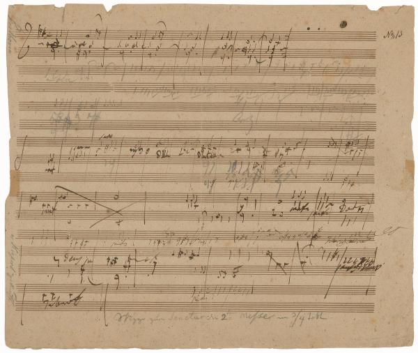 A sketchleaf for the Missa Solemnis opens up Beethoven's creative process.