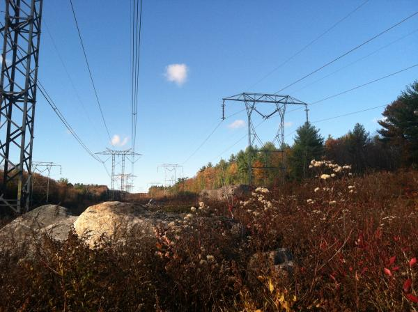 The Phase II power line is operated by National Grid and stretches from Monroe New Hampshire to the Massachusetts border. It came into service in 1990.