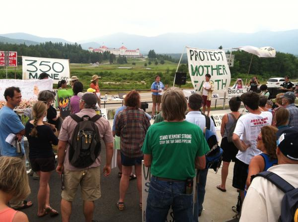 Eastern Canadian Premiers And New England Governors Meet Amid Energy Protests (7/14/14)