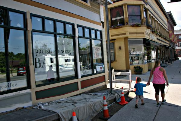 Randall is preparing The Polish Princess Bakery for an October opening.