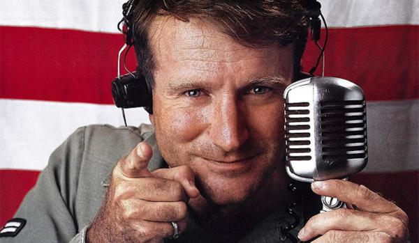 Robin Williams in Good Morning Vietnam