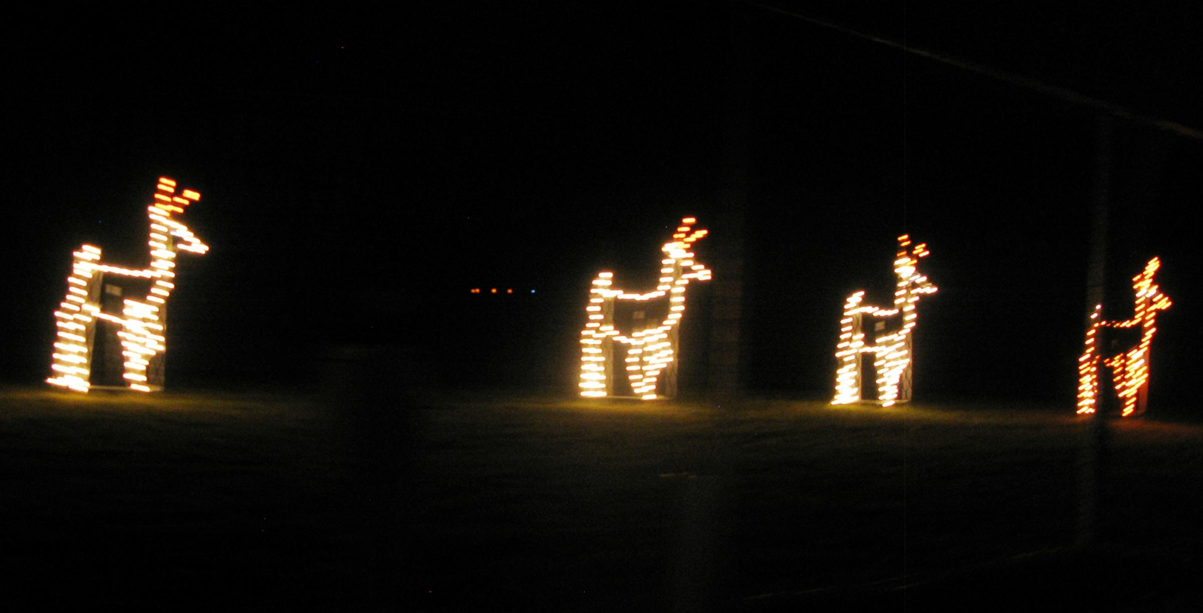 Christmas auto racing lights and a baby new hampshire for New hampshire motor speedway christmas lights