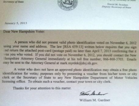 How Much Does It Cost To Prevent Voter Fraud 16 272 In N H New