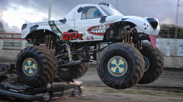 10 monster trucks with not so tough names new hampshire public radio. Black Bedroom Furniture Sets. Home Design Ideas