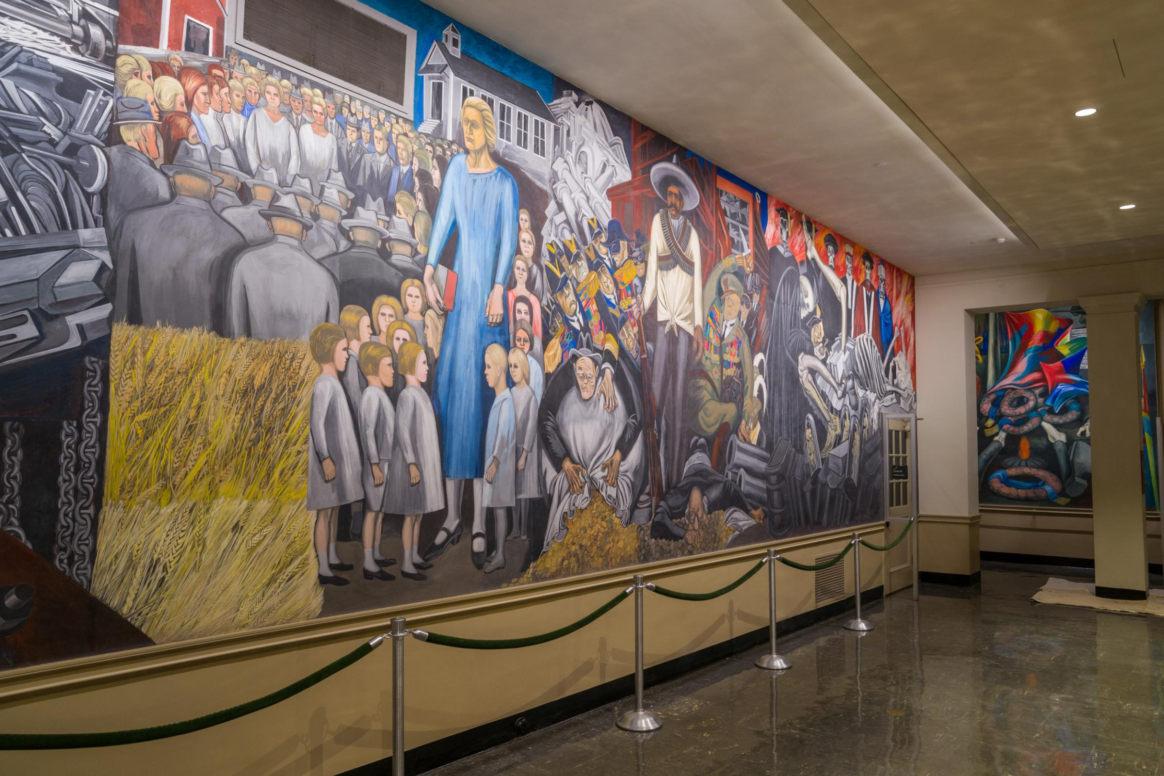 Dartmouth murals become national historic landmark new for Dartmouth mural