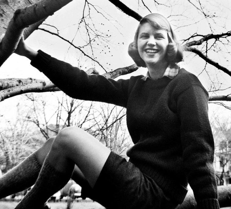the rebranding of sylvia plath new hampshire public radio