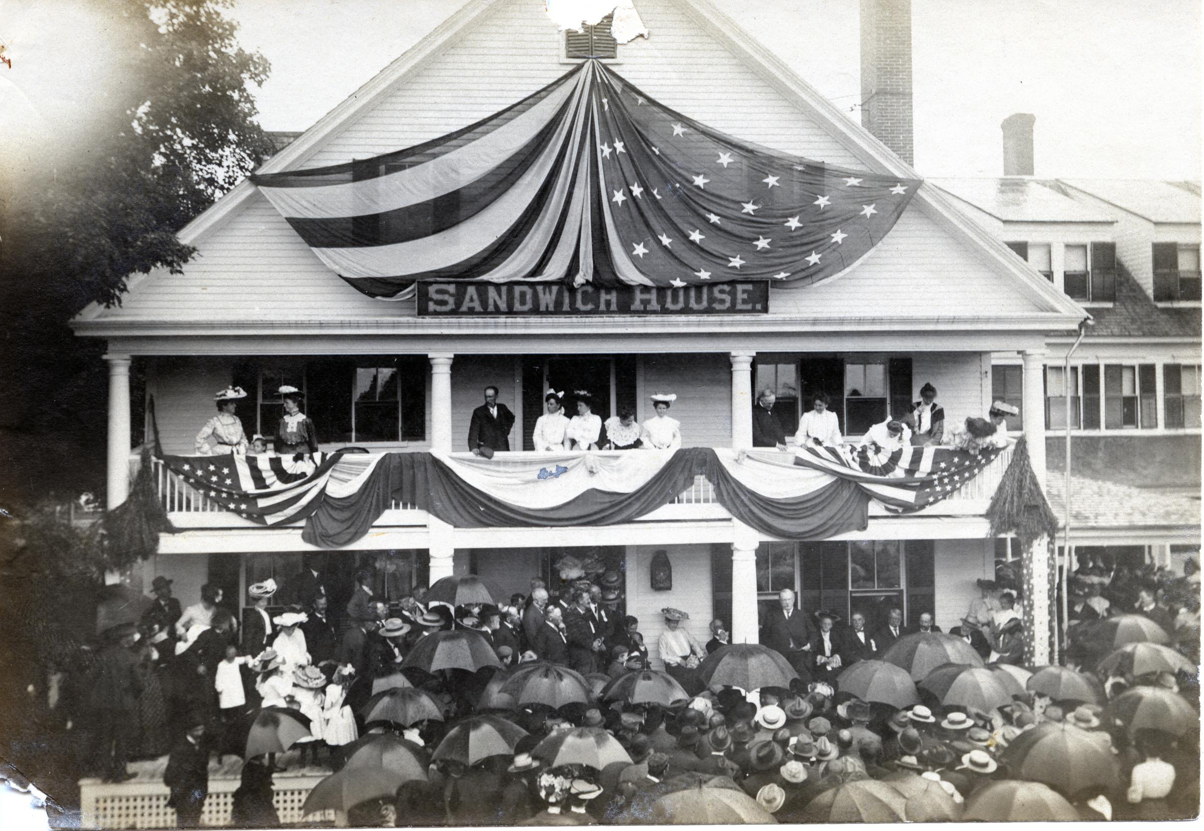 Sandwich 250 years in the making new hampshire public radio for Early 1900 house styles