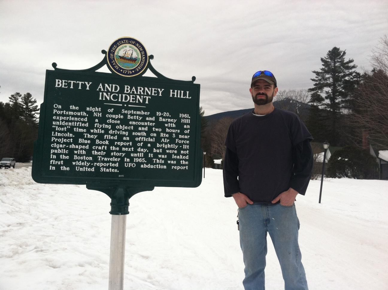 Marking History The Betty And Barney Hill Incident In