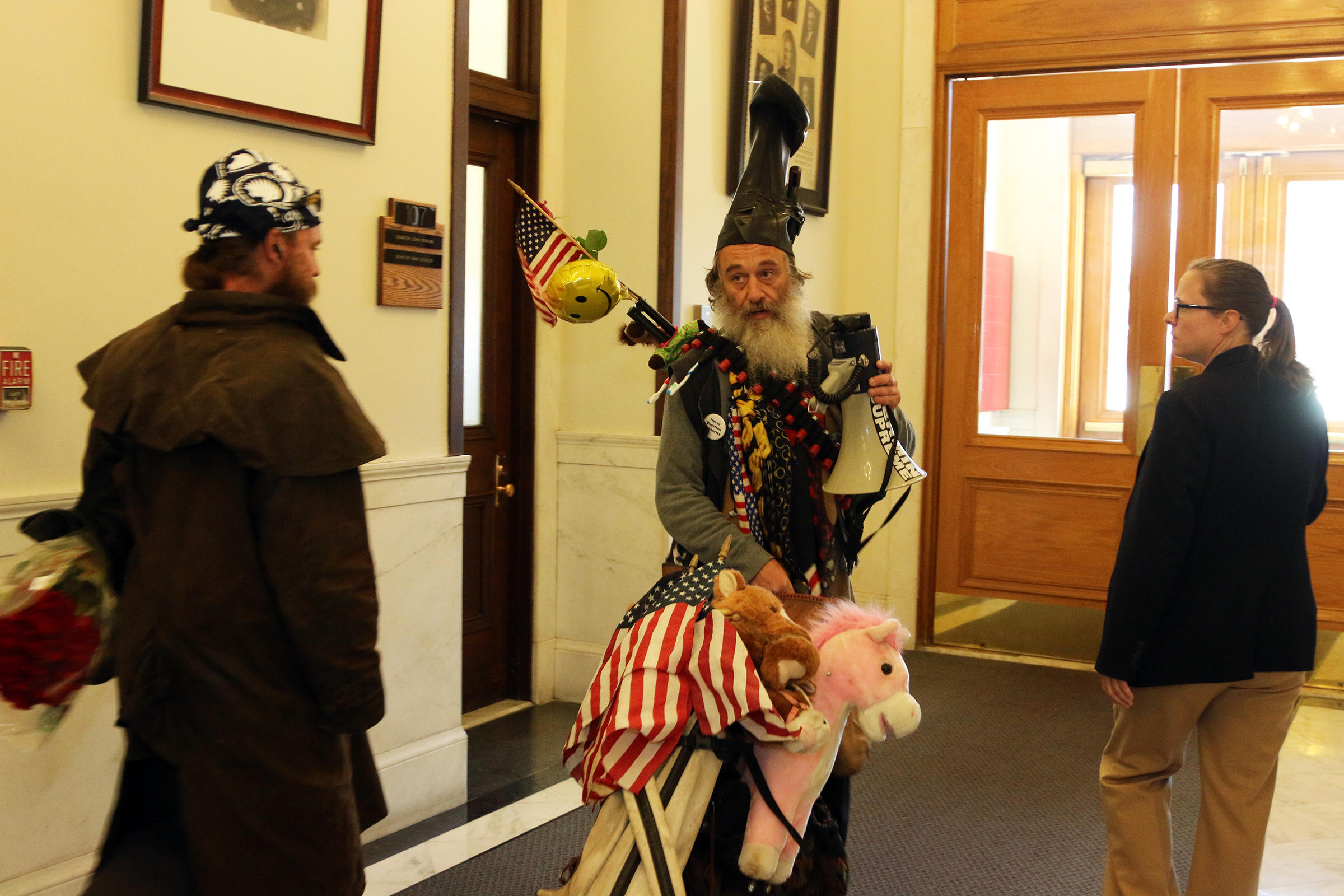 fired up about the pony economy vermin supreme just might be your